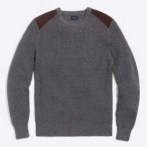 J crew men's crew neck sweater